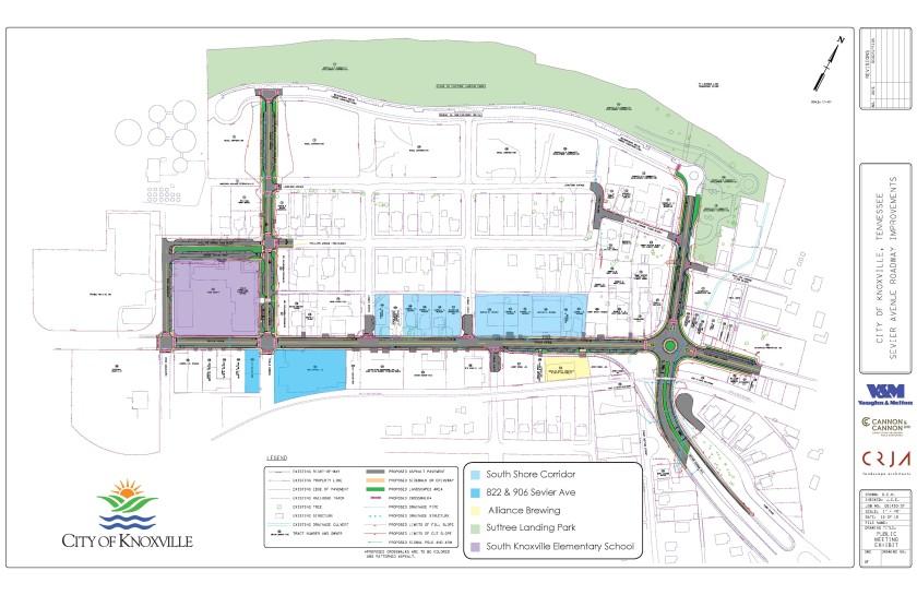 South Shore Corridor City Map